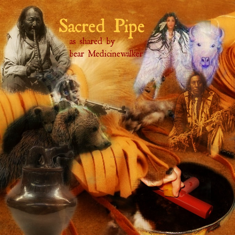 sacred pipepost