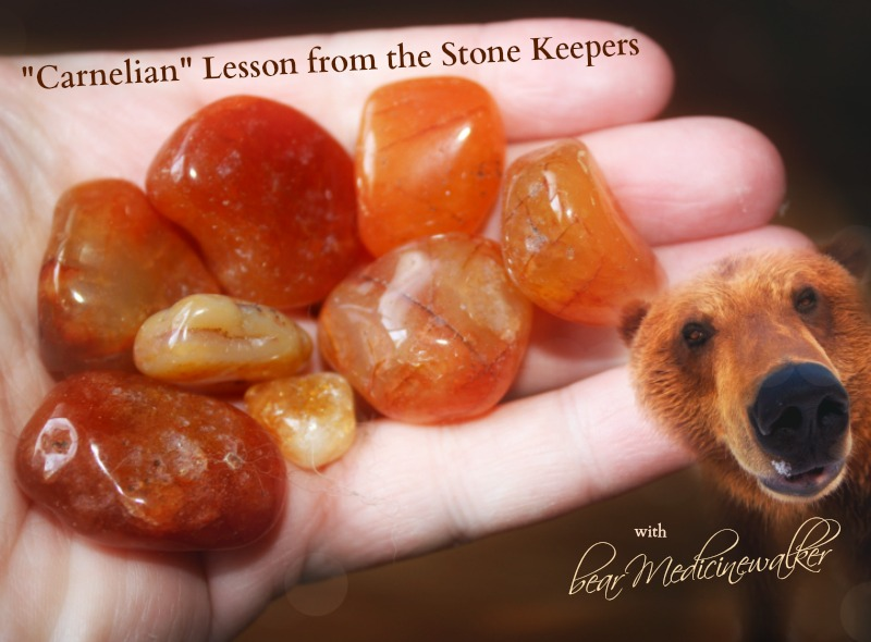 Carnelian Lesson from the Stone Keepers