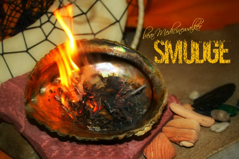 Smudge and/or Smudging with bear Medicinewalker | bear